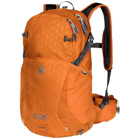 Jack Wolfskin Moab Jam 24 Backpack orange grid